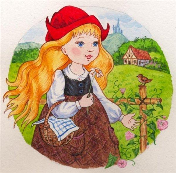 Сказочные герои картинки для детей цветные - 8