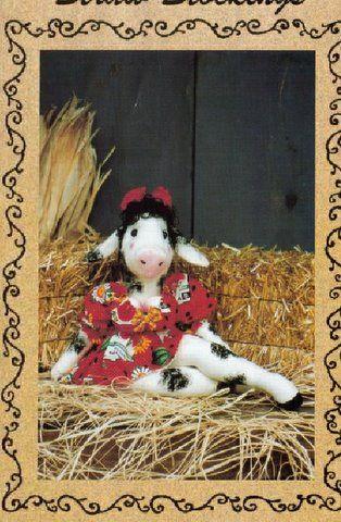 выкройка коровы - Сумки.
