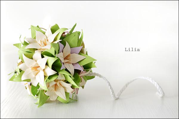 Схемы цветы оригами лилия - Скачать схемы бесплатно.