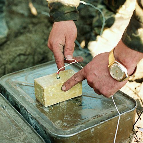 Во Владикавказе арестовали сапера за торговлю взрывчаткой