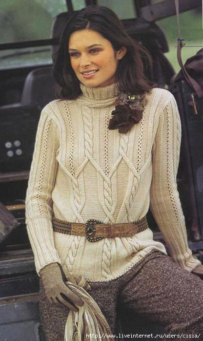 Вязание спицами модели для женщин.