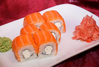 Как делать суши филадельфия в домашних условиях пошагово