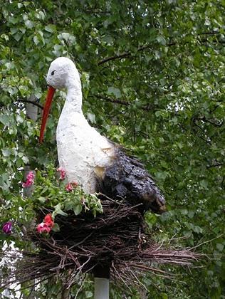 Гнездо своими руками - Поделки
