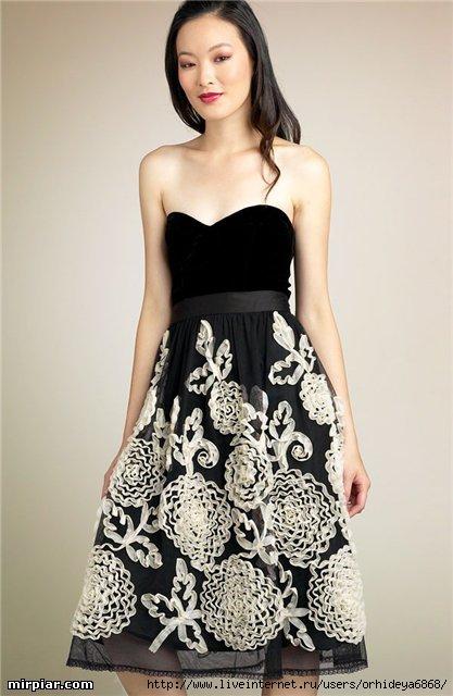Декор старого платья