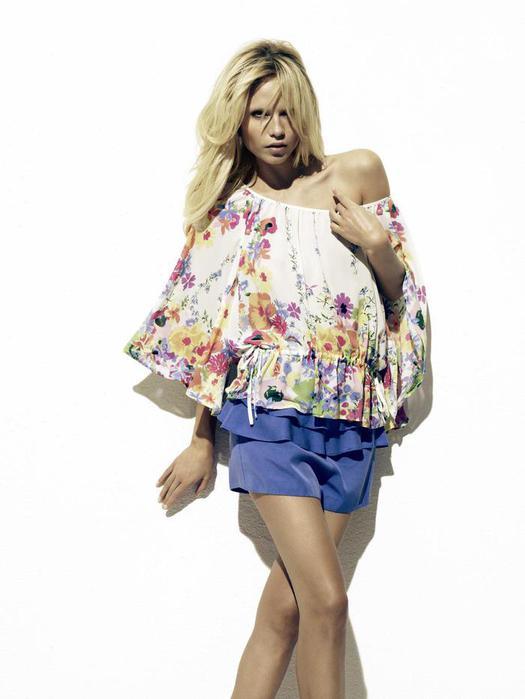 ...ткани - стиль хиппи-шик во всей свое красе представлены в коллекции H...