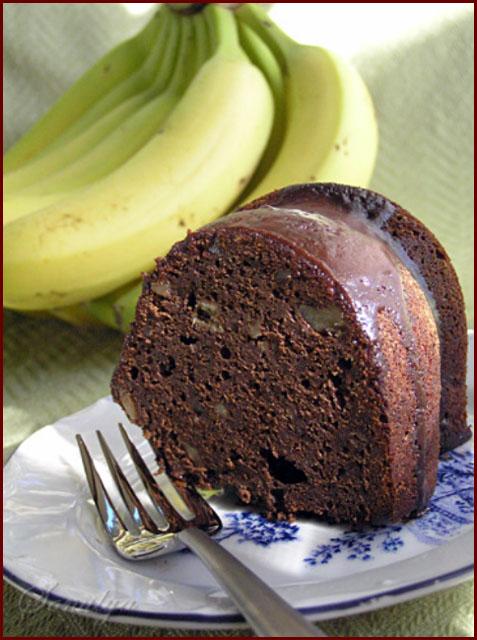 Этот кекс очень шоколадный с мягкими нотками банана и меда. По