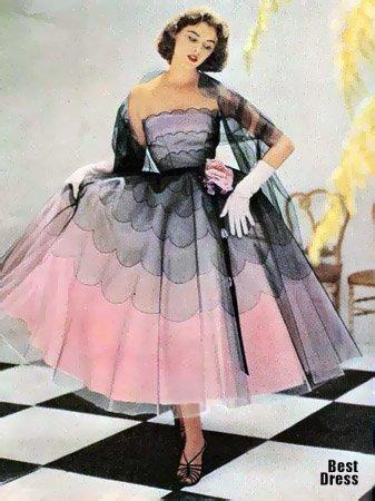 ...леди и джентльменов, одетых по последней моде 50-х годов XX века.