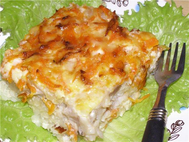 Рецепт минтая в духовке с сыром и сметаной рецепт с пошагово