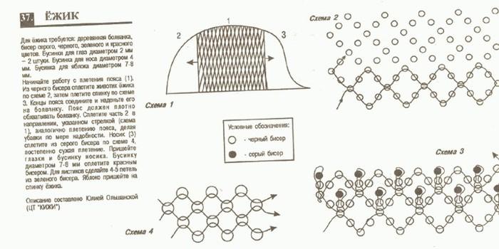 животное объёмное biser.info - всё о бисере и бисерном.