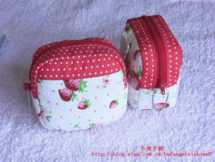 Сумочка на пояс.  МК.  Взято с китайского сайта.  Часть 29 - Сумочка...