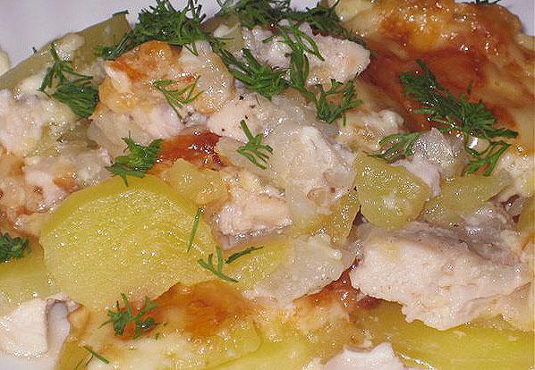 Запеченный картофель с