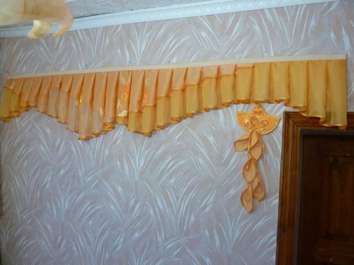 Как сшить шторы из остатков ткани фото 20