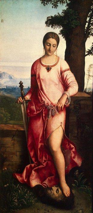 Юдифь. Картина Джорджоне. 1504 - 1505.