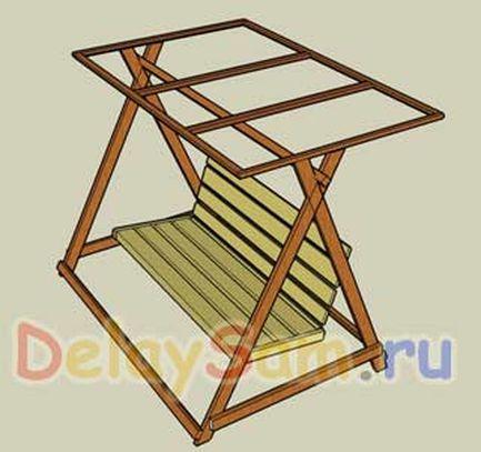 Как сделать диван качели из металла