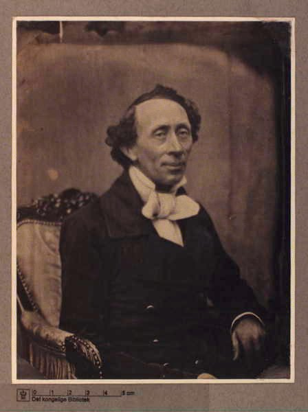 Фотография Ханс Кристиан Андерсен (photo Hans Christian Andersen).