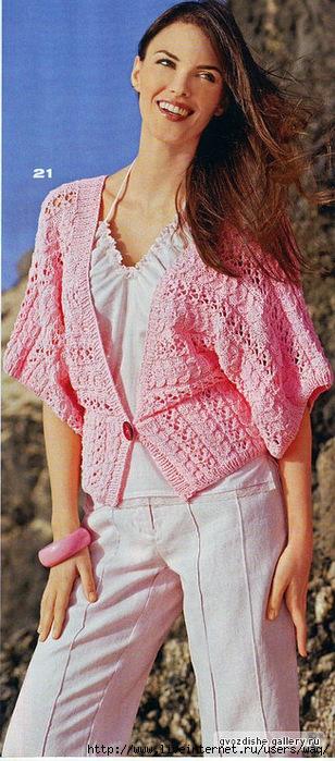 Метки.  12 Июнь 2010. летние модели.  Вязание для женщин спицами.