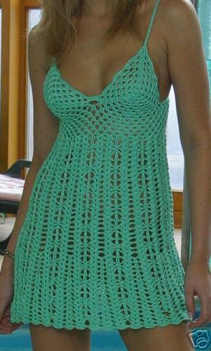 Платья , вязание крючком