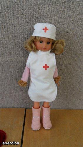 Сшить куклу доктор своими руками
