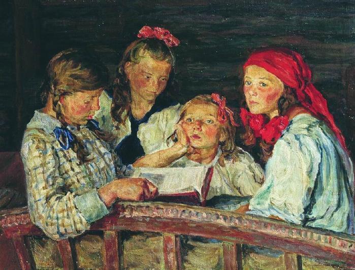 37797717_BogdanovBelskiy_Nikolay_Petrovich_Za_knizhkoy (699x532, 83Kb)