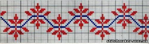Узоры для вышивки крестом полотенец