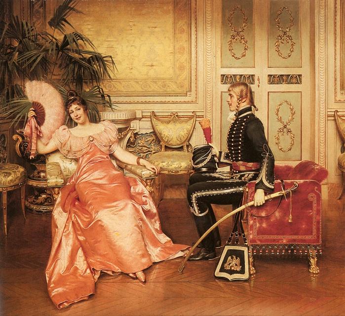 frederic-soulacroix-1858-1933-flirtation (700x641, 434Kb)