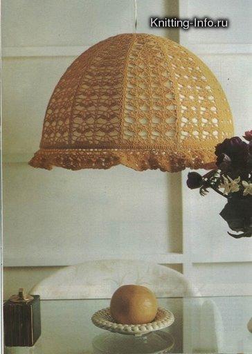 欣赏针织灯罩 - maomao - 我随心动