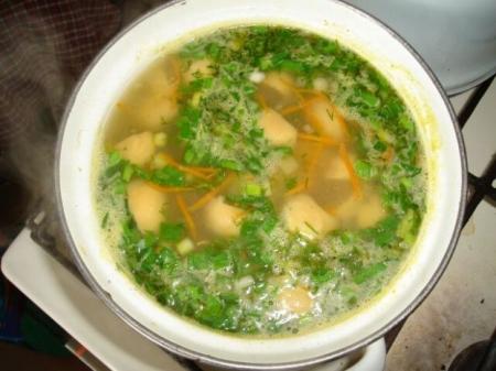 грибной суп из сушеных грибов рецепты