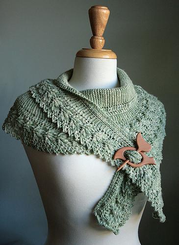 Ажурный шарф-косынка Lacy