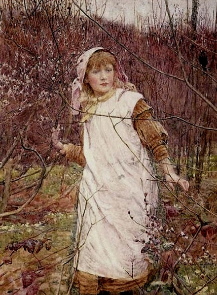 2010239_Lionel_Percy_Smythe_The_First_Buds_of_Spring_1885_g_ (440x600, 251Kb)