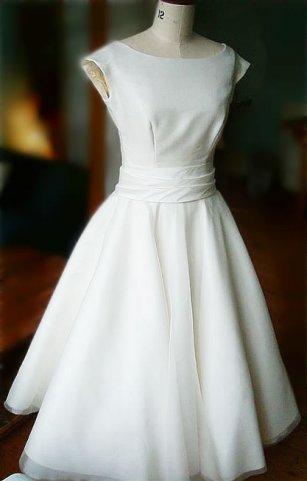 платье в стиле 19 века.