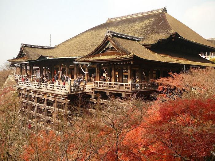 Киёмидзу-дэра - храм для всех. 23810