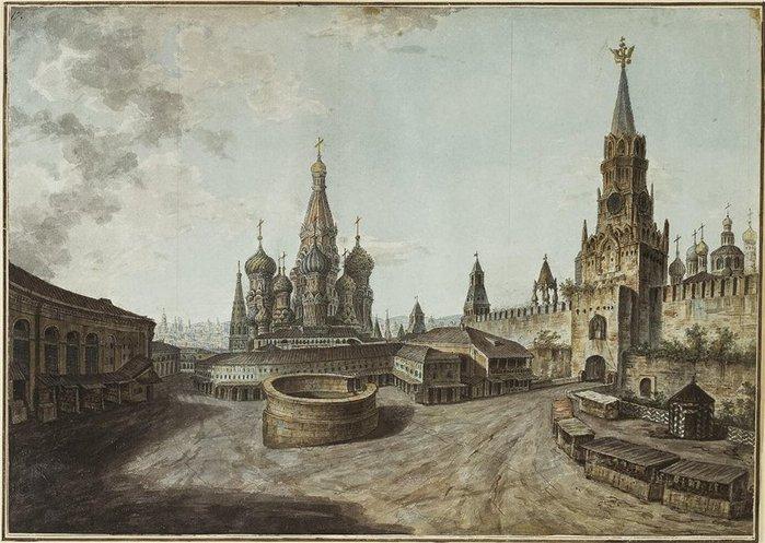Красная пл. Василий Блаженный (700x497, 87Kb)