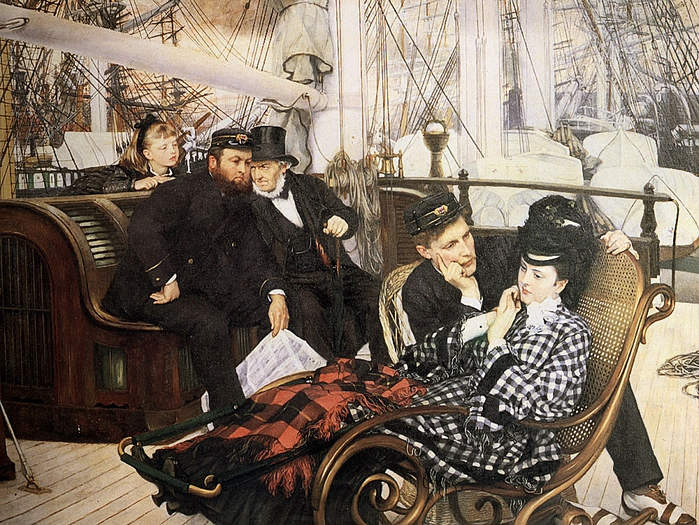 James Jacques Joseph Tissot (1836-1902) � The Last Evening (700x525, 391Kb)