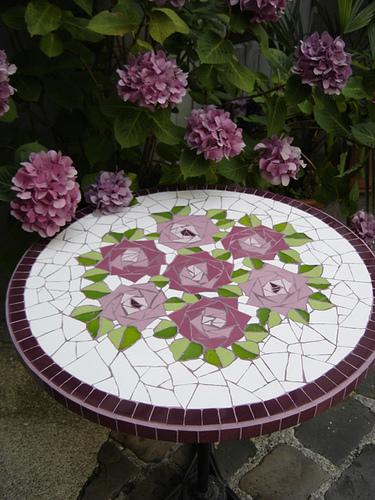 Плитка своими руками для сада
