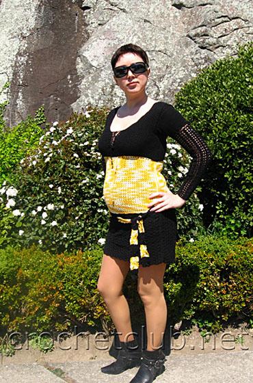 вязание для беременных - Самое