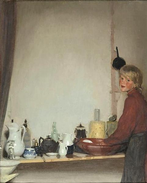 Leandro Ramon Garrido (1868 - 1909)Le petite plongeuse 1901 (481x600, 166Kb)