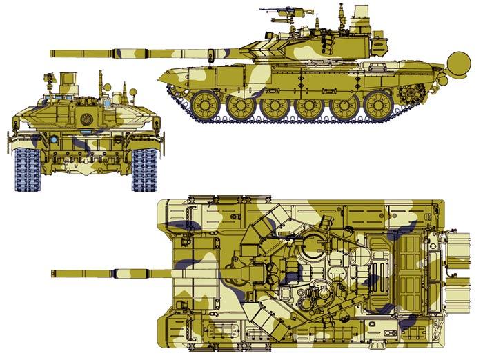 Схема танка (700x522, 74Kb)