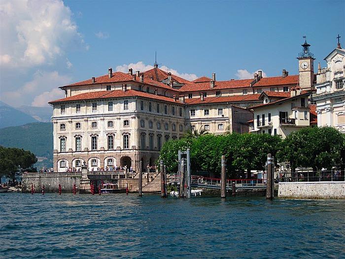 Дворец Борромео ( итал. Isola Bella - красивый остров ) 97501