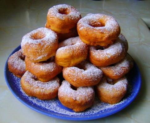 пончики с дыркой рецепт с фото