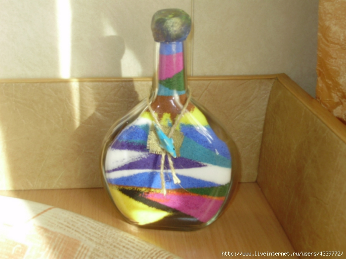 Поделки своими руками из бутылки стеклянной своими руками
