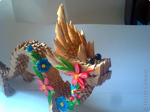 модульное оригами зайчик. оригами дракон из модулей схема.