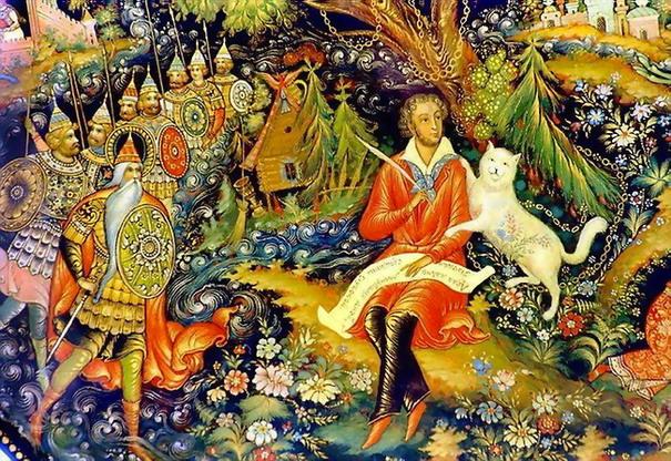 Иллюстрации сказки о царе салтане в картинках