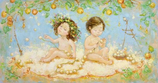 Адам и Ева (530x279,  82Kb)