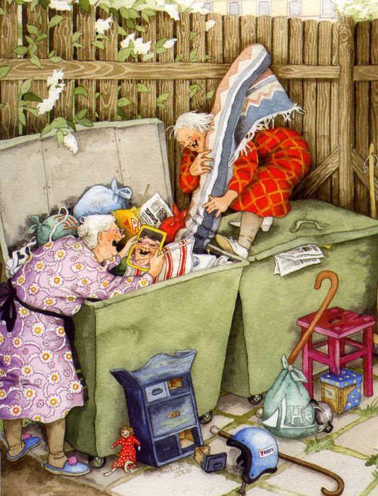 Эротика с бабушкой 4 фотография
