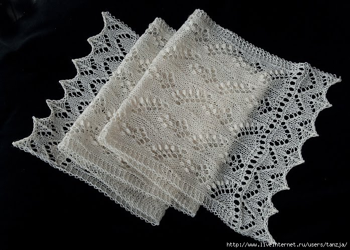 Источник: книга Knitted Lace