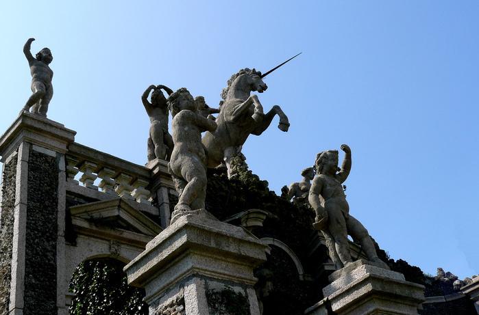 Дворец Борромео ( итал. Isola Bella - красивый остров ) 78071