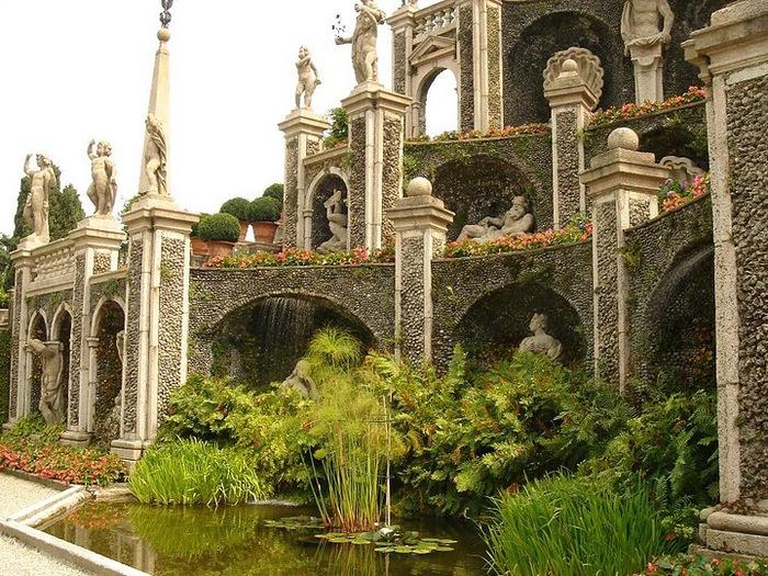 Дворец Борромео ( итал. Isola Bella - красивый остров ) 64191