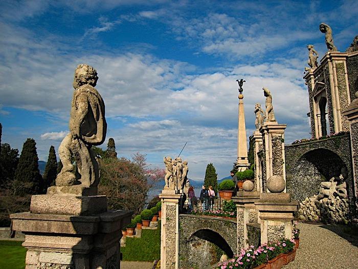 Дворец Борромео ( итал. Isola Bella - красивый остров ) 50387