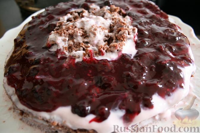 шоколадно ягодный торт (673x447, 204Kb)