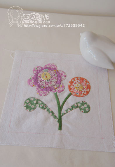 flower patchwork tutorial